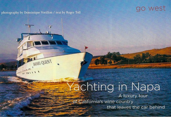 Yachting in Napa